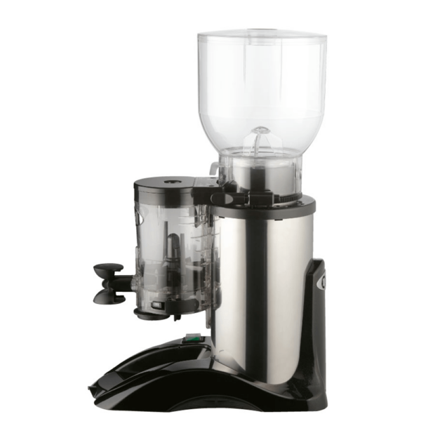 Side view Marfil coffee grinder