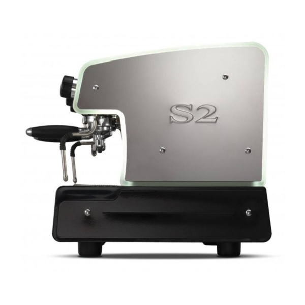 Side view of the La Spaziale S2 traditional coffee machine