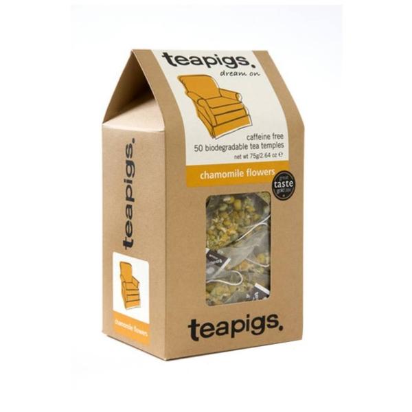 Box of Teapigs Chamomile flowers teabags
