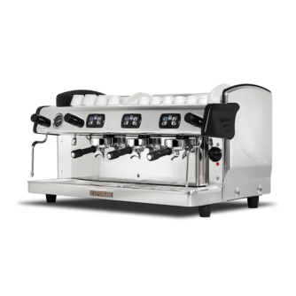 Zircon 3 group traditional coffee machine