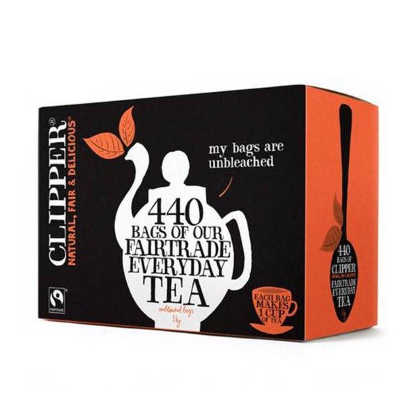 Box of clipper everyday teabags