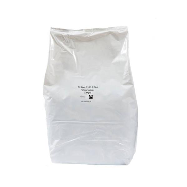 Bag of finlays fair-trade one cup tea