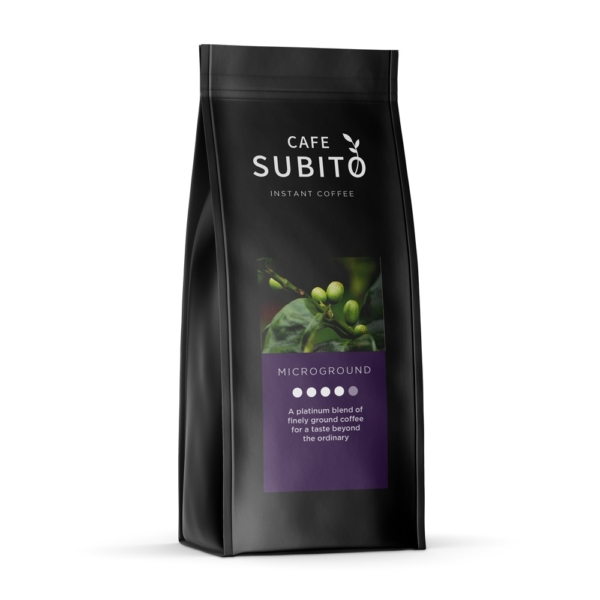 Bag of Cafe Subito Microground Instant Coffee