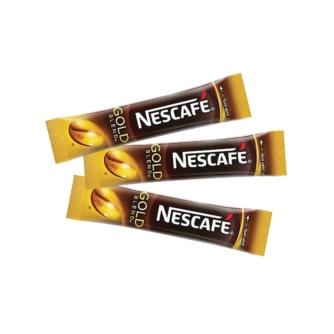 Nescafe Gold instant coffee sticks