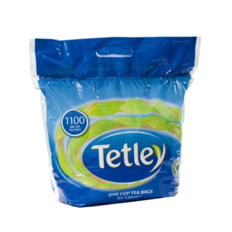 Bag of Tetley tea one cup bags