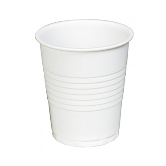 white 7oz vending plastic cup