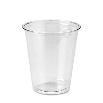 clear plastic 7oz cup