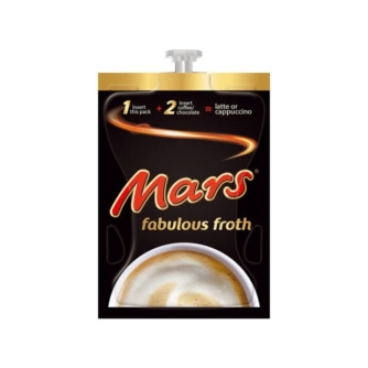 mars fabulous froth hot sachet for flavia