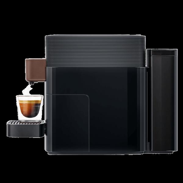 KFEE One pod coffee machine side view