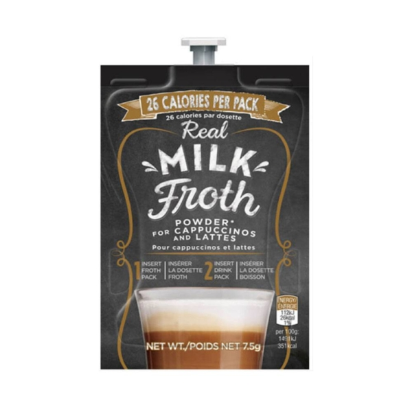 real milk froth sachet for Flavia