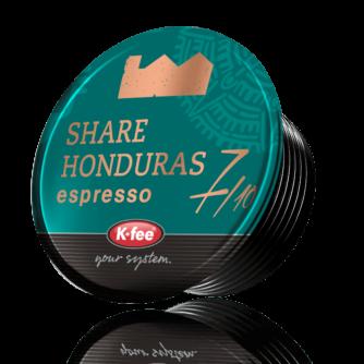 Kfee Mr and Mrs Mills share Honduras espresso coffee pod