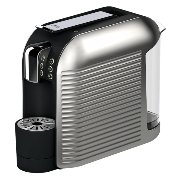 KFee Wave pod coffee machine side view