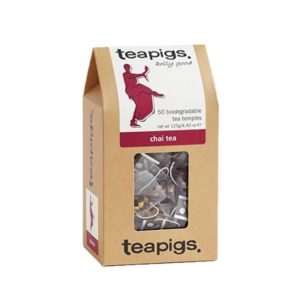 box of teapigs chair tea teabags