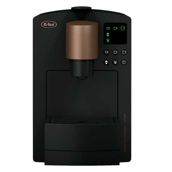 KFee Grande pod coffee machine front view