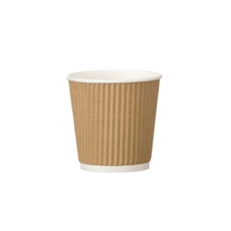 kraft tripple walled 4oz espresso paper cup