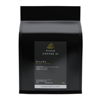 Bag of Picco Coffee co Milano filter coffee