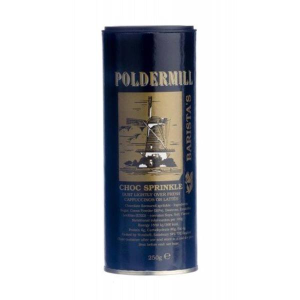 tube of polder mill chocolate sprinkles