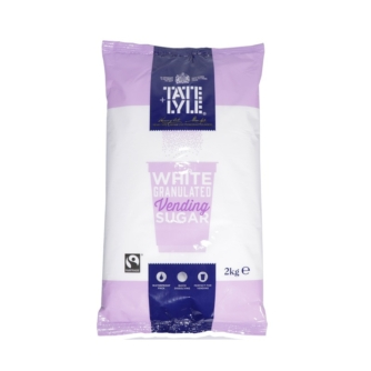 bag of tate and lyle white granulated vending sugar