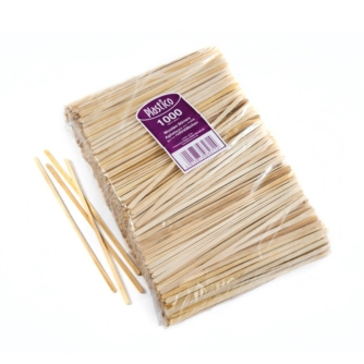pack of wooden drinks stirrers