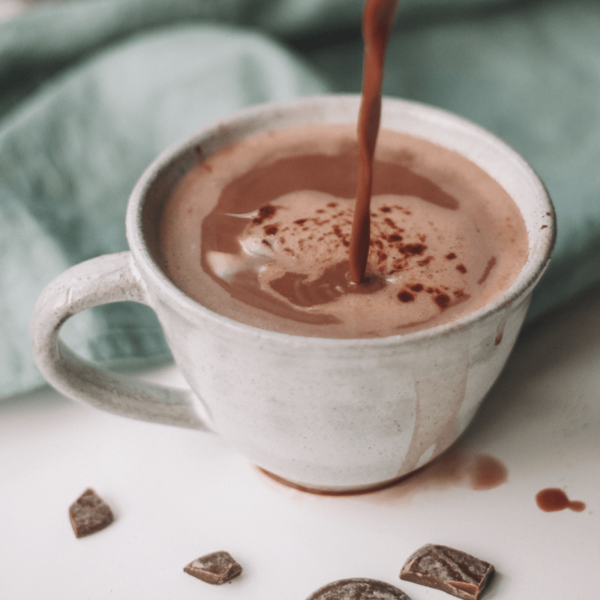 Cup of Luxury instant hot chocolate