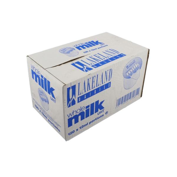 Box of Lakeland whole milk portions