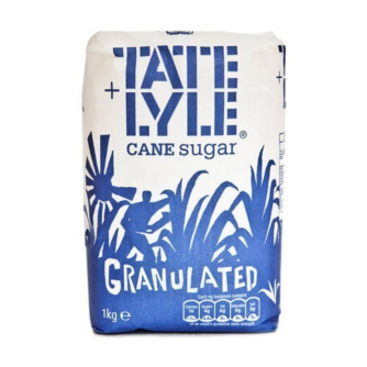 Tate and Lyle granulated sugar 1kg bag
