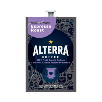 Flavia Alterra Espresso Roast instant coffee