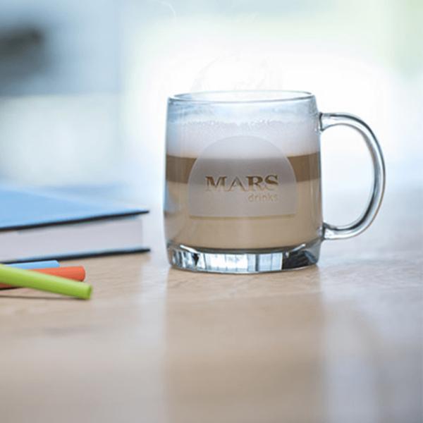 Cup f Flavia Alterra Hazelnut instant coffee