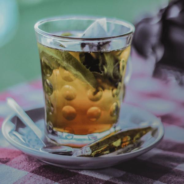 Cup of Clipper peppermint tea