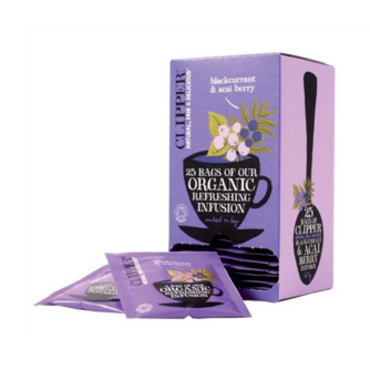 Clipper blackberry and acai berry 25 teabags