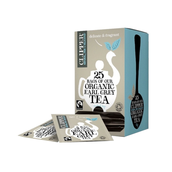 Clipper organic earl grey 25 teabags