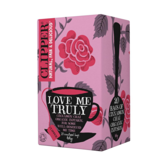 Clipper Love me truly teabags