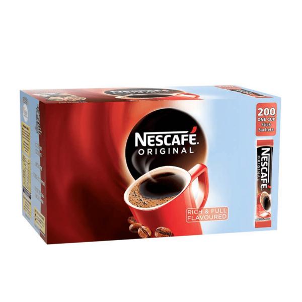 Box of 200 Nescafe Original Coffee sticks