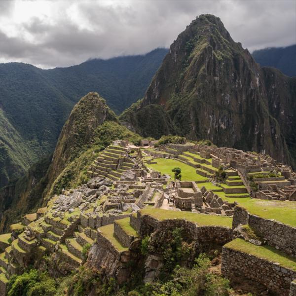 View Peruvian countryside