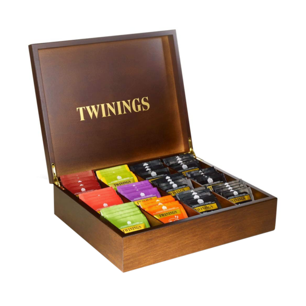 Twinings 12 section tea box