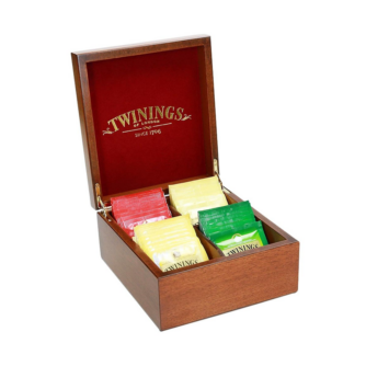 Twinings 4 section tea box
