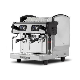 zircon 2 group compact traditional coffee machine